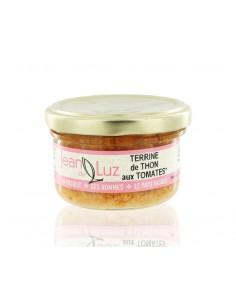 Terrine de thon aux tomates 85g - Jean de Luz