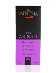 Chocolat Noir Abinao 85% cacao - Valrhona