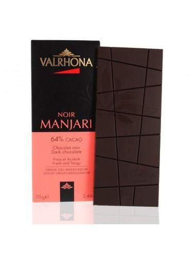 Chocolat Noir Manjari 64% cacao - Valrhona