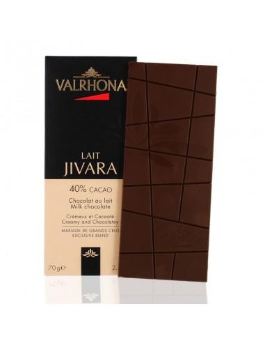 Chocolat au Lait Jivara 40% cacao - Valrhona