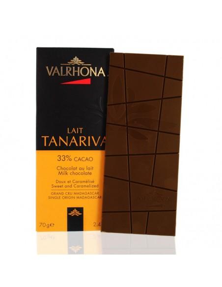 Chocolat au Lait Tanariva 33% cacao - Valrhona