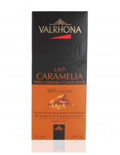 Chocolat au Lait Caramelia 36% cacao - Valrhona
