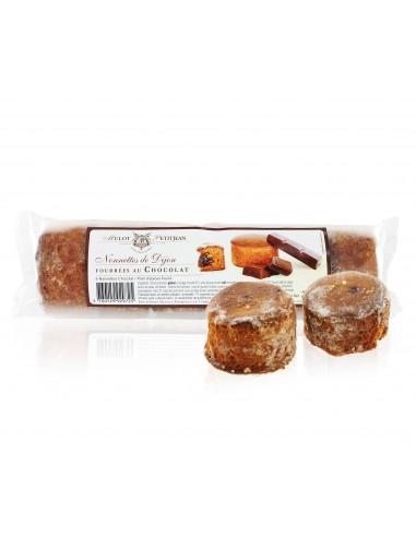 Nonnettes de Dijon fourrage Chocolat 200g - Mulot et Petitjean