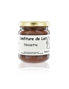 Confiture de lait noisette pot 250g