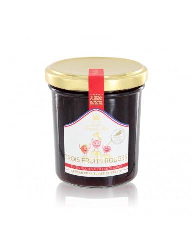 Confiture Trois Fruits Rouges 220g - Francis Miot
