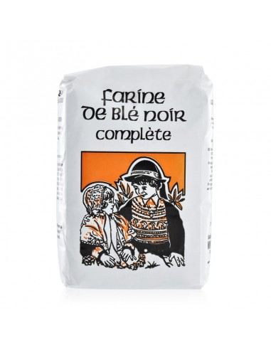 Farine de Blé Noir complète 500g - Moulin de l'Ecluse