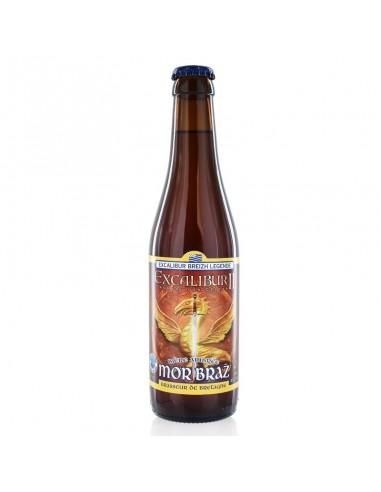 Bière Ambrée Excalibur 33cl - Mor Braz