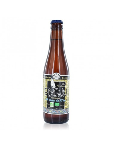 Bière Edenn Bio à l'eau de mer 33cl - Mor Braz