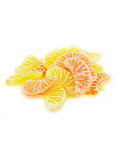 Bonbons tranches de fruits sachet 200g