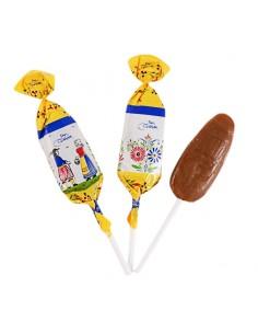 Sucette caramel au beurre salé au Sel de Guérande