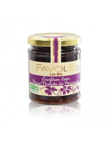 Confiture Figue violette de Provence - Bio Favols
