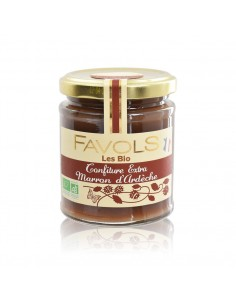 Confiture Marron d'Ardèche - Bio Favols