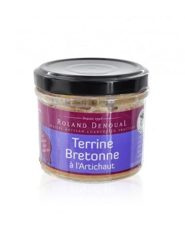 Terrine Bretonne à l'artichaut 100g - Roland Denoual