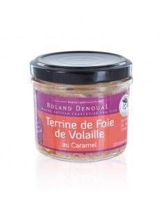 Terrine de foie de volaille au Caramel 100g - Roland Denoual