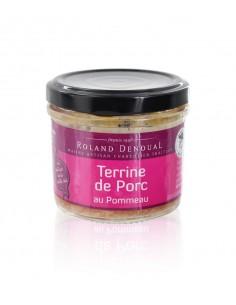 Terrine de Porc au pommeau 100g – Roland Denoual