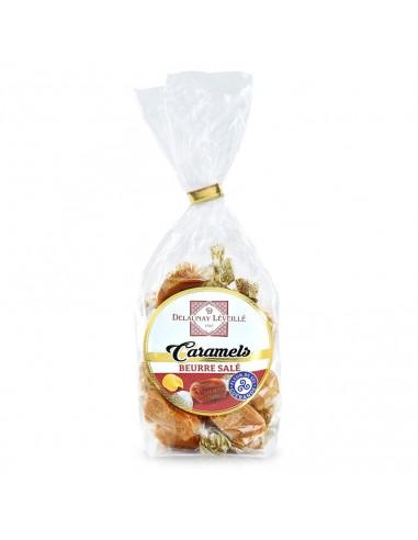 Caramels au beurre salé sachet 100g
