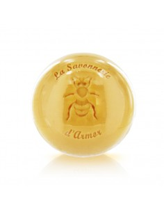 Savon rond au miel de Bretagne