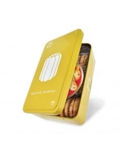 Boîte Canelé garnie de Biscuits pépites chocolat d'Aquitaine