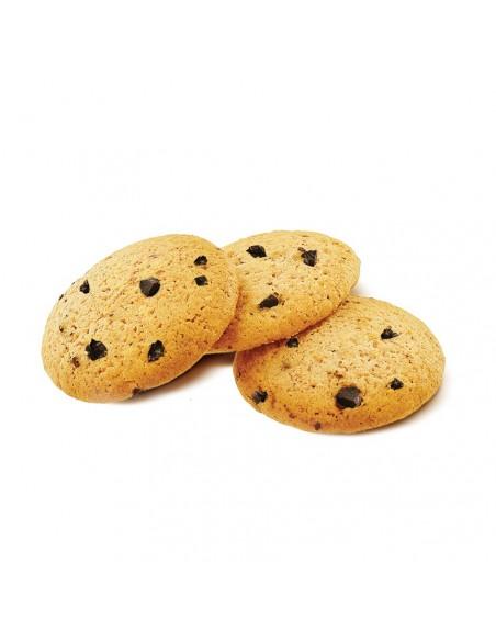 Boîte Piment Espelette du Pays Basque garnie de Biscuits pépites chocolat