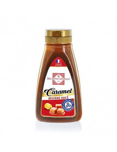 Squeezer Caramel au beurre salé 330g