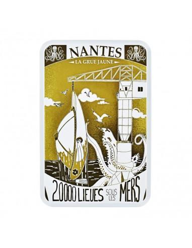 Coffret la Grue Jaune Nantes garni de Biscuits