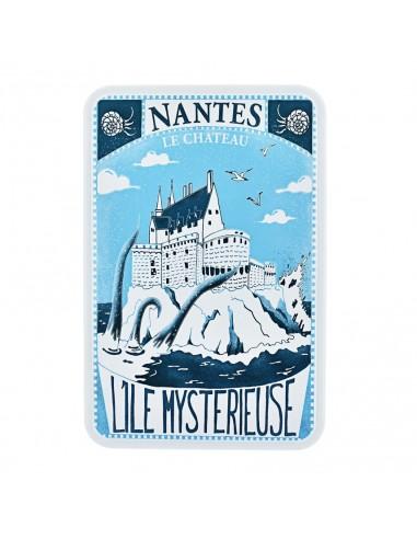 Coffret le Château de Nantes garni de Biscuits