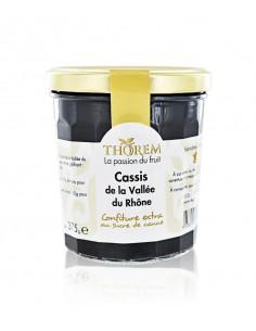 Confiture de Cassis Vallée du Rhône Thorem 375g