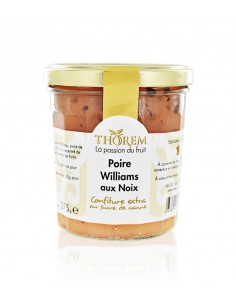Confiture de Poire Williams aux Noix Thorem 375g
