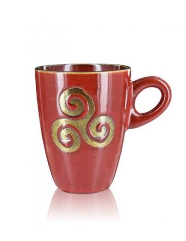 Tasse Bretonne Triskel rouge