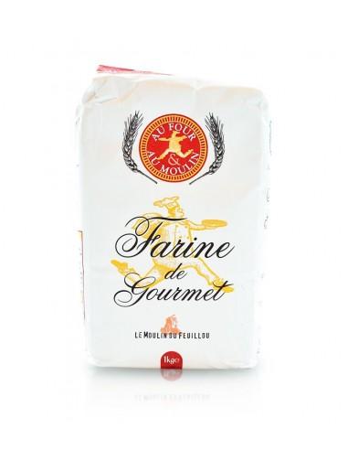 Farine de Blé 1kg - Moulin de l'Ecluse