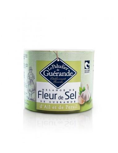 Fleur de Sel à l'ail & Persil| Pot 125g