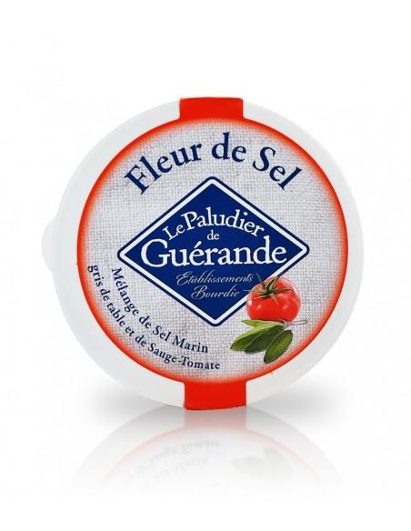 Fleur de Sel à la Sauge & tomate | Pot 125g