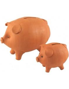 Mini Tirelire cochon à casser (Taille XS)