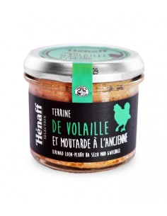 Terrine Henaff de volaille Moutarde à l'ancienne 90g