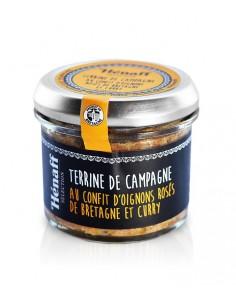 Terrine Henaff Confit d'oignon et Curry 90g