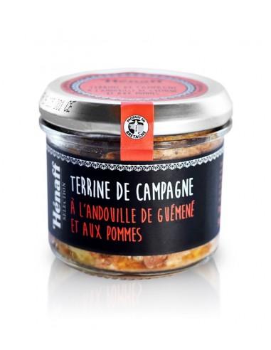 Terrine Henaff de Campagne Andouille guemene Pommes 90g