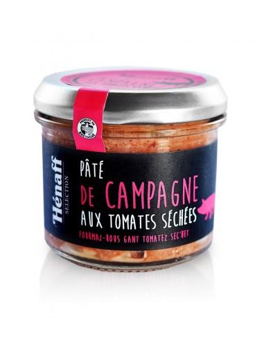Paté de campagne tomates séchées 90g   Henaff