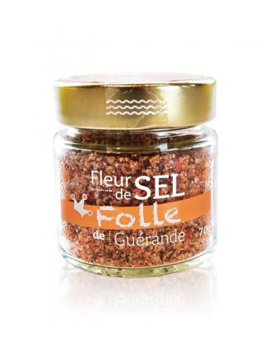 Fleur de sel Folle 70g   Delaunay Léveillé