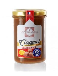 Pot crème caramel au beurre salé à la fleur de sel de Guérande 250g