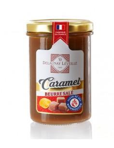 Pot crème de caramel au beurre salé à la fleur de sel de Noirmoutier 250g