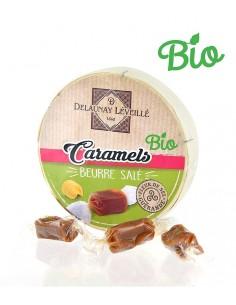 Caramels bio au beurre salé à la fleur de sel de Guérande camembert 75g