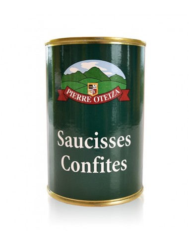 Saucisses confites 400g - Pierre Oteiza