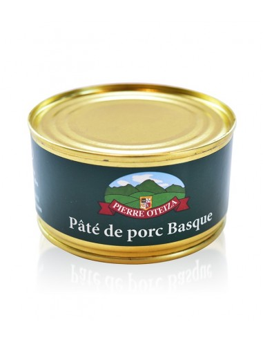 Pâté de Porc Basque Kintoa 190g - Pierre Oteiza