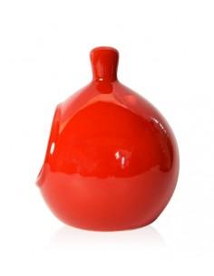 Main à sel Rouge en grès 14cm