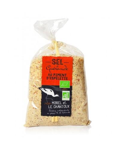 Sel au piment d'Espelette 250g - L'Atelier du sel