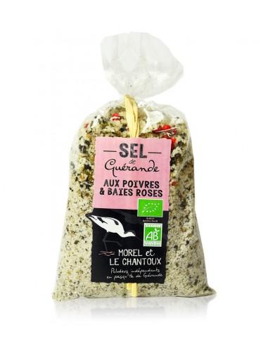 Sel au poivres & baies roses 250g - L'Atelier du Sel