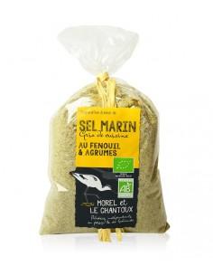 Sel au Fenouil et agrumes 250g - L'Atelier du Sel