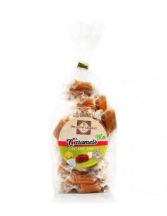 Caramels bio au beurre salé à la fleur de sel de Guérande sachet 100g