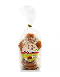 Caramels bio au beurre salé à la fleur de sel de Guérande sachet 200g