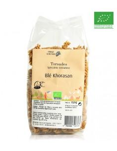 Pâtes bio Torsades blé Khorasan 250g